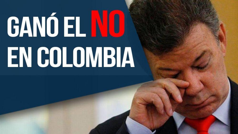 El NO ganó en Colombia