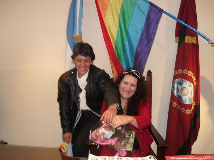Primer Casamiento Homosexual en Salta - Archivo