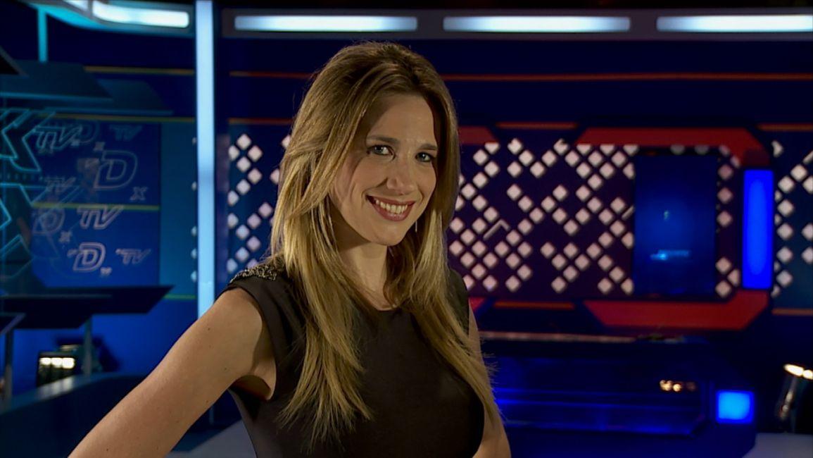 Alina Moine, la periodista deportiva que enciende las redes sociales.