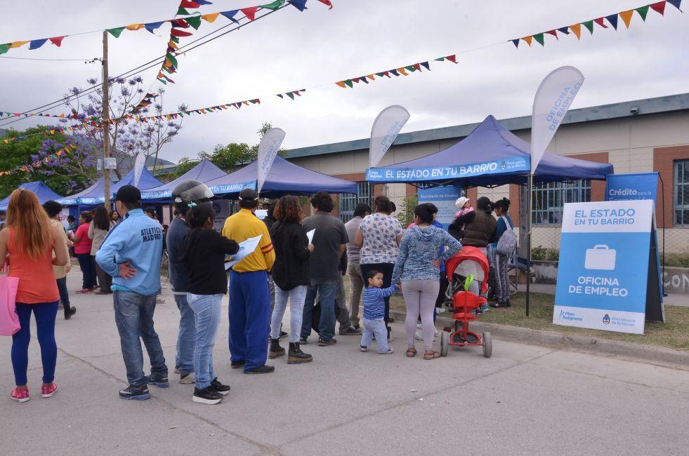 """Organismos provinciales participan en """"El Estado en tu Barrio"""""""