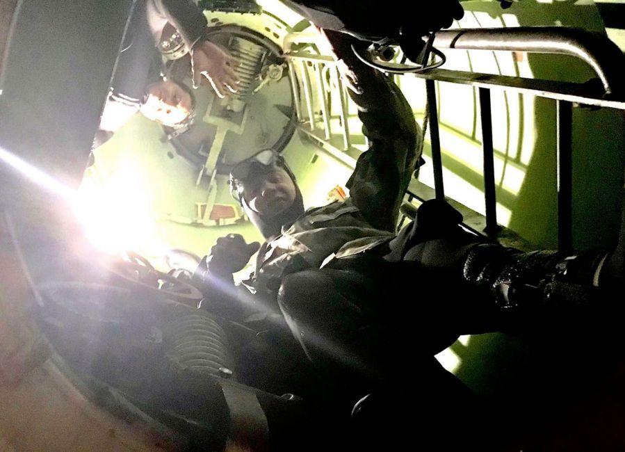 Submarino San Juan: las ultimas fotografias
