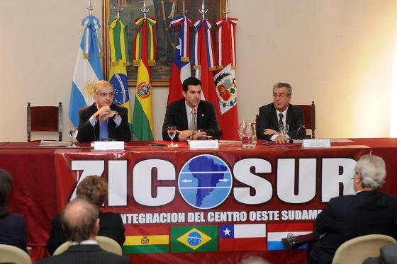Juan Manuel Urtubey en el Zicosur 2011.