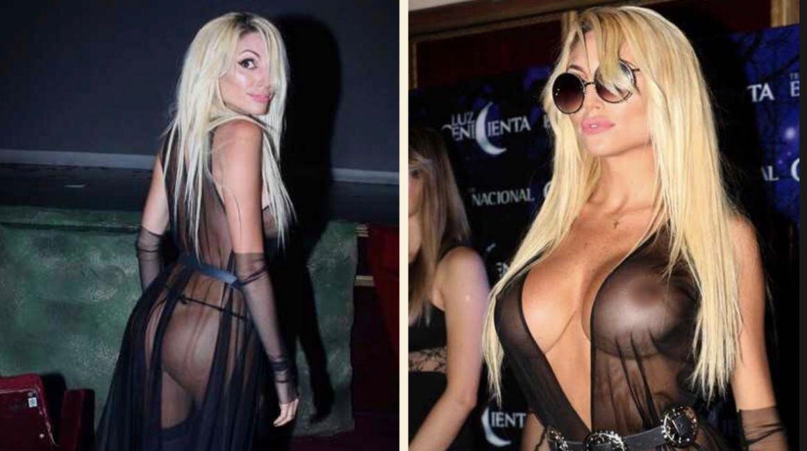 Show Ah Buenovicky Xipolitakis Semi Desnuda En El Estreno De