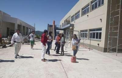 La Secretaria de Gestión Educativa recorrió las instalaciones.