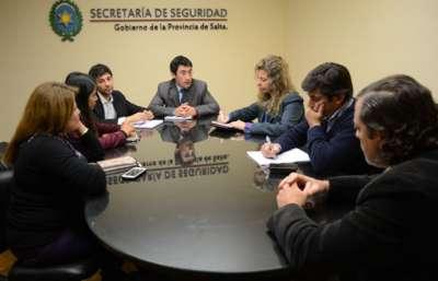 Seguridad coordina actividades por el Día Internacional de Lucha contra las Drogas.