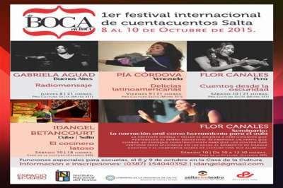 Comienza el Festival Internacional de Cuentacuentos De Boca en Boca.
