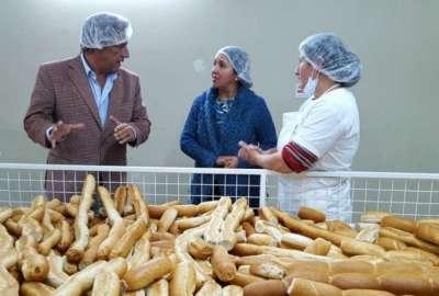 Se controló la calidad y el funcionamiento de la Panadería Social.
