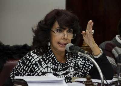 La autora de la iniciativa legislativa, Ángela Di Bez (Primero Salta).