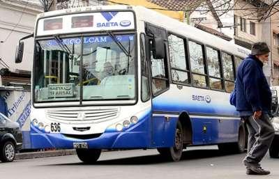 Servicio de transporte por el Día del Trabajador.