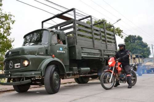 Llegaron al relleno sanitario San Javier los primeros 30 camiones con chatarra.