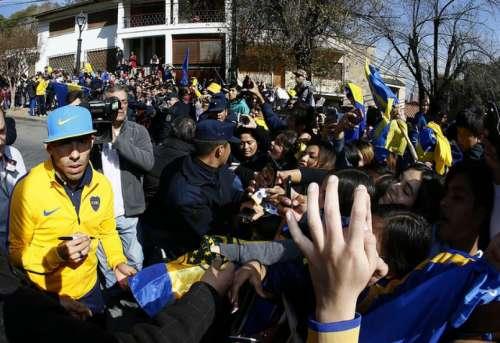 Más de 15 mil personas vibraron en el partido de Boca - Olimpia en Salta