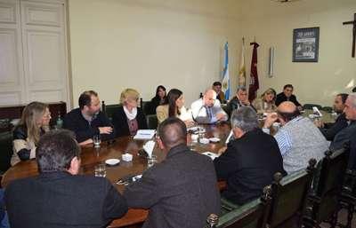 La Ministra de Educación se reunió con legisladores provinciales.