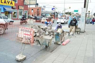 Por obras de reparación de calzada se debe circular con precaución por avenida Jujuy.