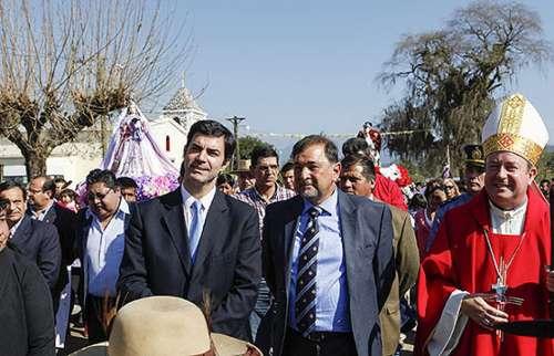 Juan Manuel Urtubey y Miguel Isa en Isla de Cañas