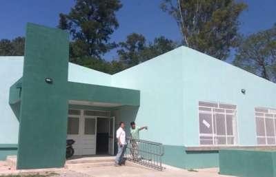 Finalizó la obra integral de la escuela Bernabé López de Vaqueros