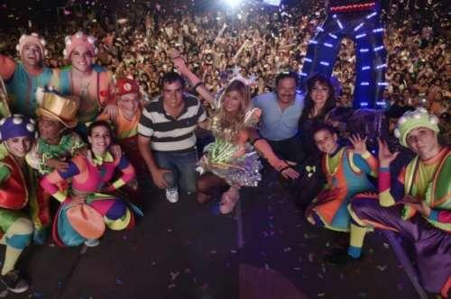 Sáenz participó de una jornada para toda la familia con shows y diversión