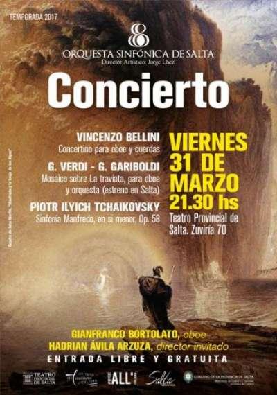 La Sinfónica ofrecerá un concierto bajo la dirección de Hadrián Avila Arzuza