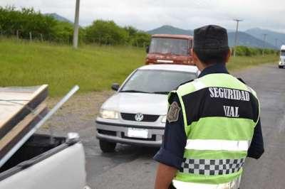 Seguridad Vial labró más de quinientas infracciones durante el fin de semana