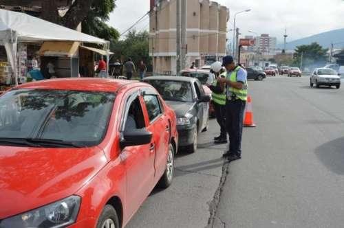 Habrá intensos controles de tránsito durante el fin de semana largo