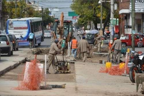Son 24 los frentes de obras que se ejecutan en la ciudad