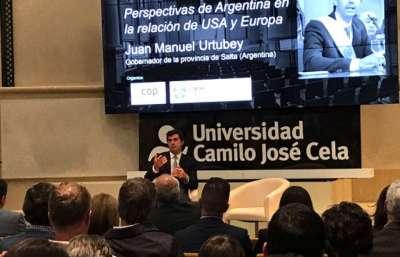 Urtubey expuso en España sobre Argentina y los desafíos