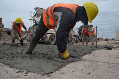 Muy positivo: aumentan los frentes de obra de pavimentación en la ciudad