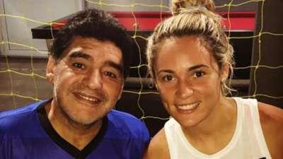De no creer: Rocío Oliva y Diego Maradona, otra vez reconciliados