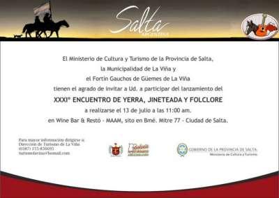 La Viña presenta el Encuentro de Yerra, Doma y Folklore