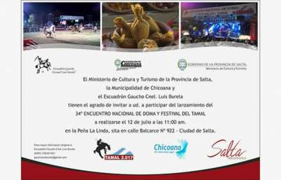 Imperdible: Encuentro de Doma y Festival del Tamal