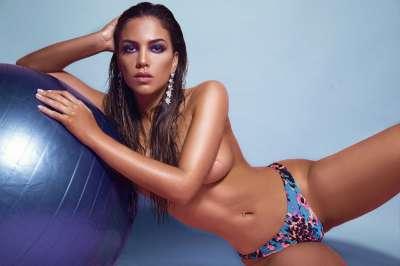 Fuego en las Redes Sociales: Rocío Robles posó para Playboy
