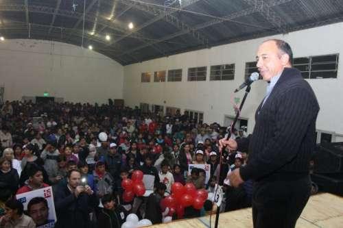 En multitudinario acto, lanzan la lista del Frente Salteño en San Lorenzo