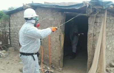 Equipos para control del Chagas relevan viviendas en Santa Victoria Este