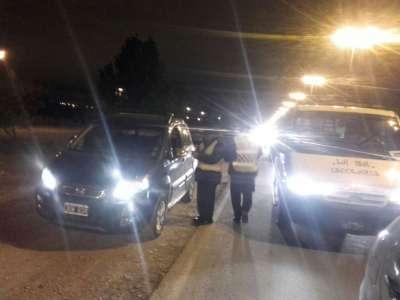 Con una campaña vial, Tránsito concientizó a conductores en avenida Banchik