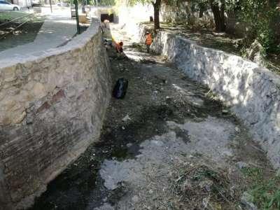 Comenzó la limpieza en el canal El Pilar: a mantener la higiene