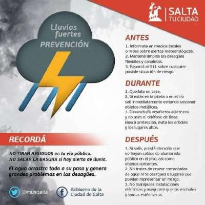 Recomendaciones para evitar inundaciones y accidentes por las lluvias