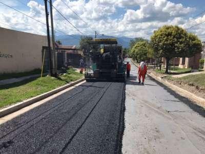 Avanzan las obras en calles del Grand Bourg: satisfacción de vecinos