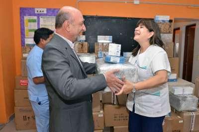 Laboratorios de hospitales de Valle de Lerma recibieron nuevos equipos