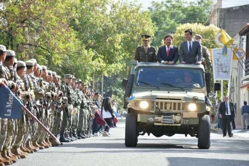 Sáenz encabezó los actos por el 436° aniversario de la fundación de Salta