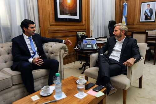 El Gobernador Urtubey se reunió con el ministro del Interior Rogelio Frigerio