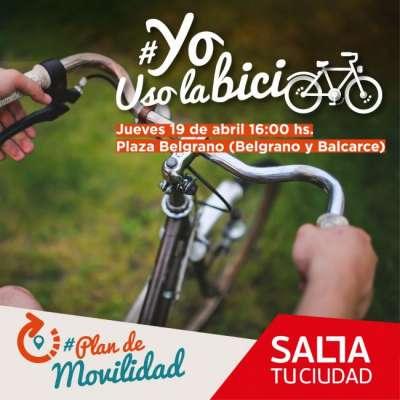 Ricardo Villada participará de las actividades por el Día Mundial de la Bicicleta