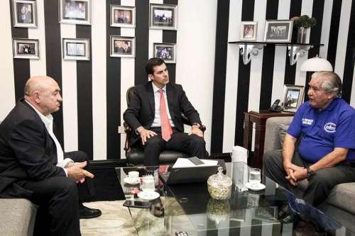Urtubey recibió al Vicepresidente de la Asamblea Plurinacional de Bolivia