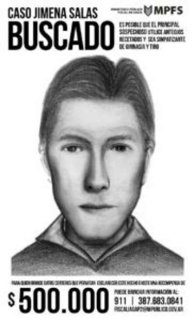 Insisten en la difusión del retrato de uno de los sospechosos